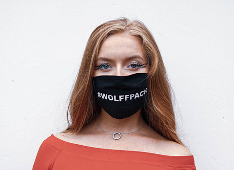 002 #WOLFFPACK Face Covering