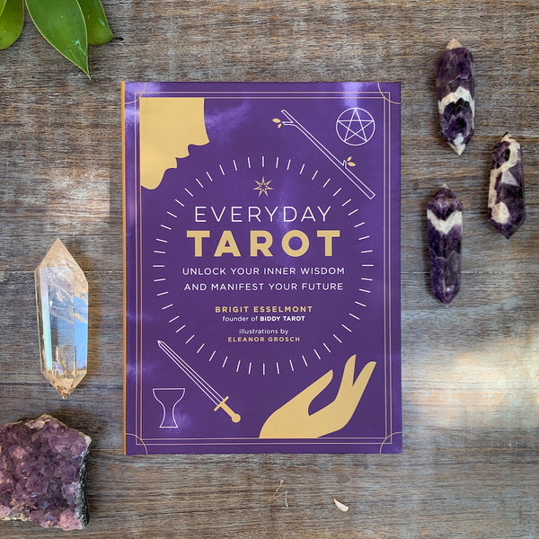 Everyday Tarot Book by Brigit Esselmont founder of Biddy Tarot