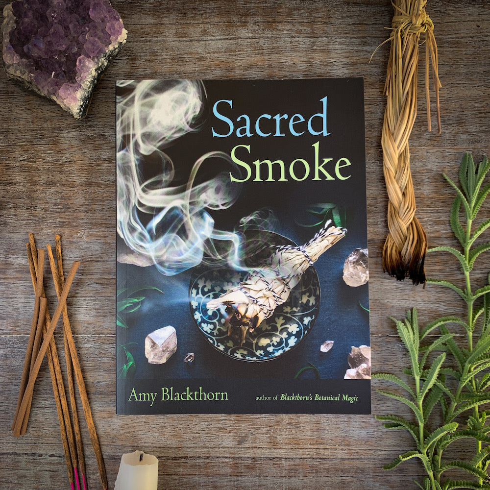 Sacred Smoke Book with Incense