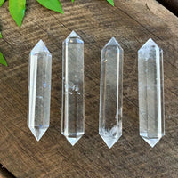QUARTZ CRYSTAL DOUBLE TERMINATED POINT