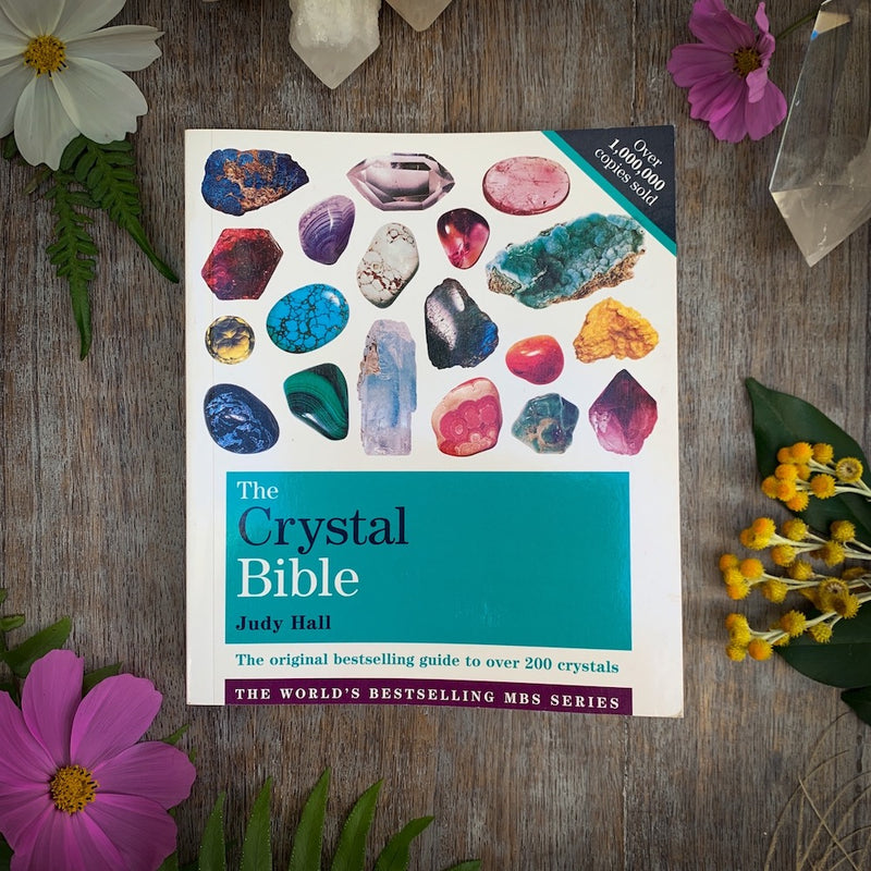 The Crystal Bible book by Judy Hall