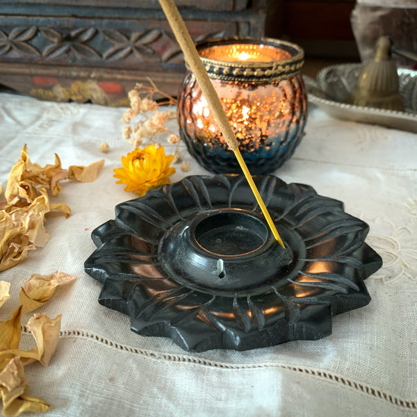 SUNFLOWER INCENSE HOLDER