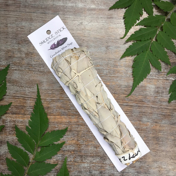 Grandfather White Sage smudge stick