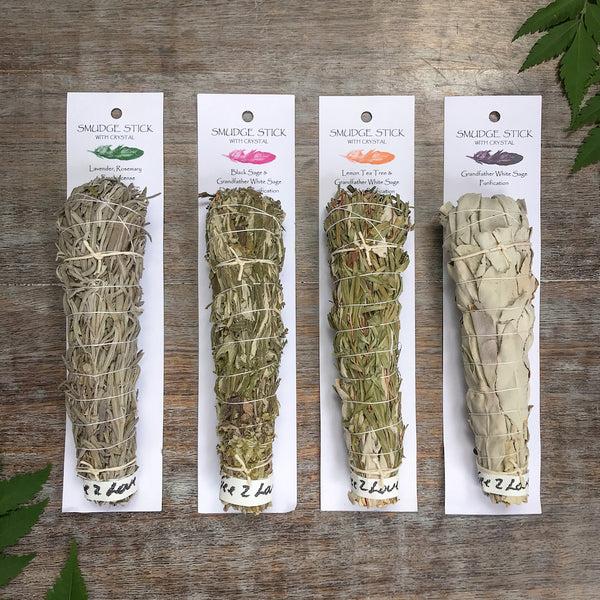 Sage smudge sticks various