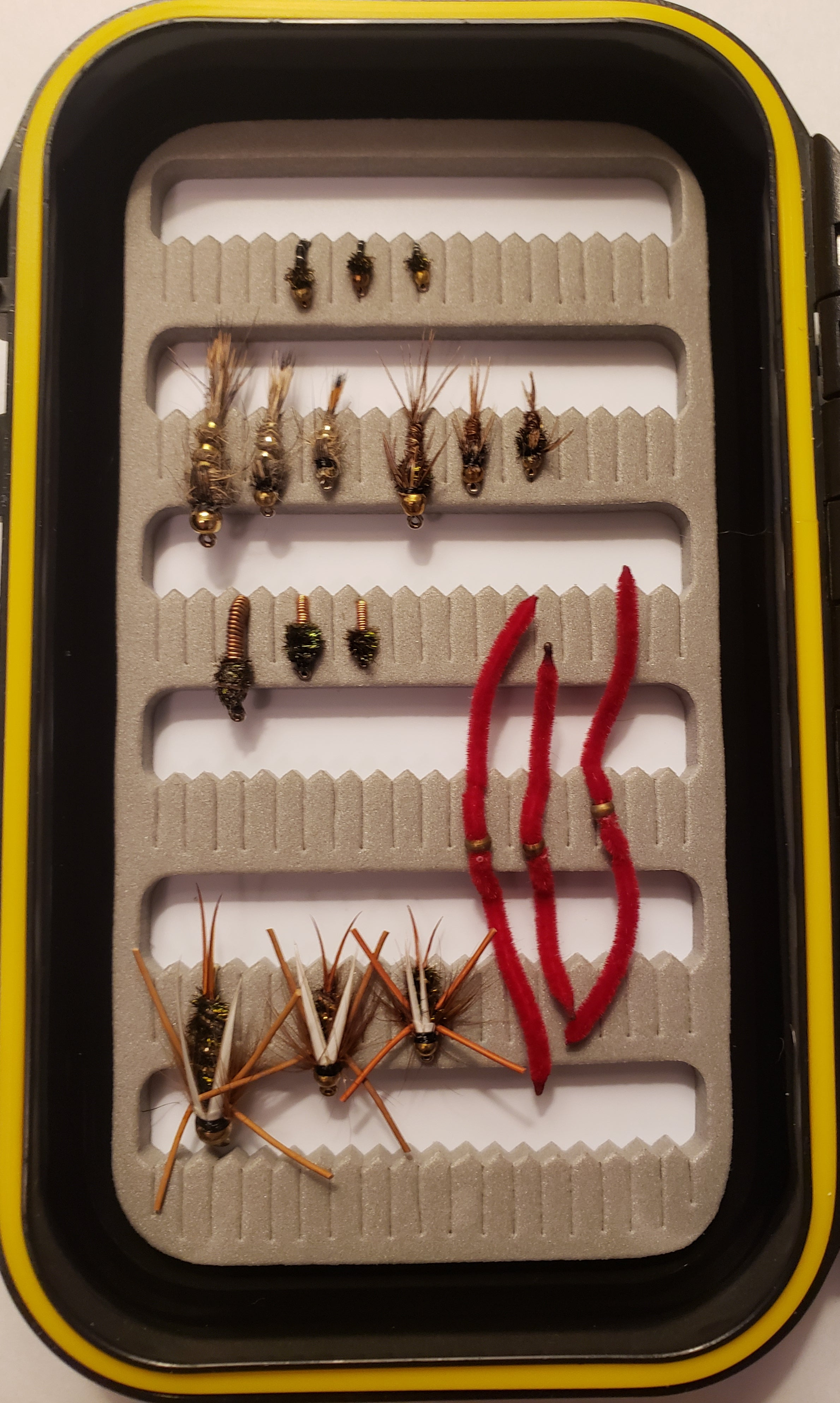 EMB Fishing 18 Piece Premium Nymph Assortment With