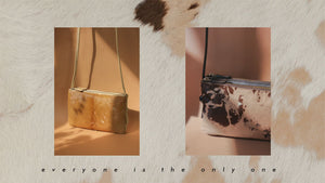 The Beauty of Imperfect・2021 Special Edition・Double Zip Crossbody