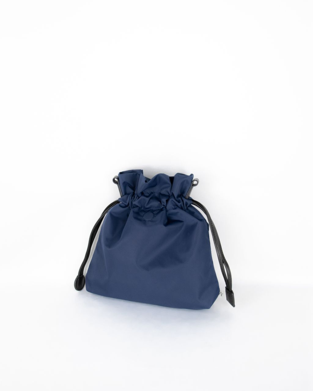 navy nylon beans bag