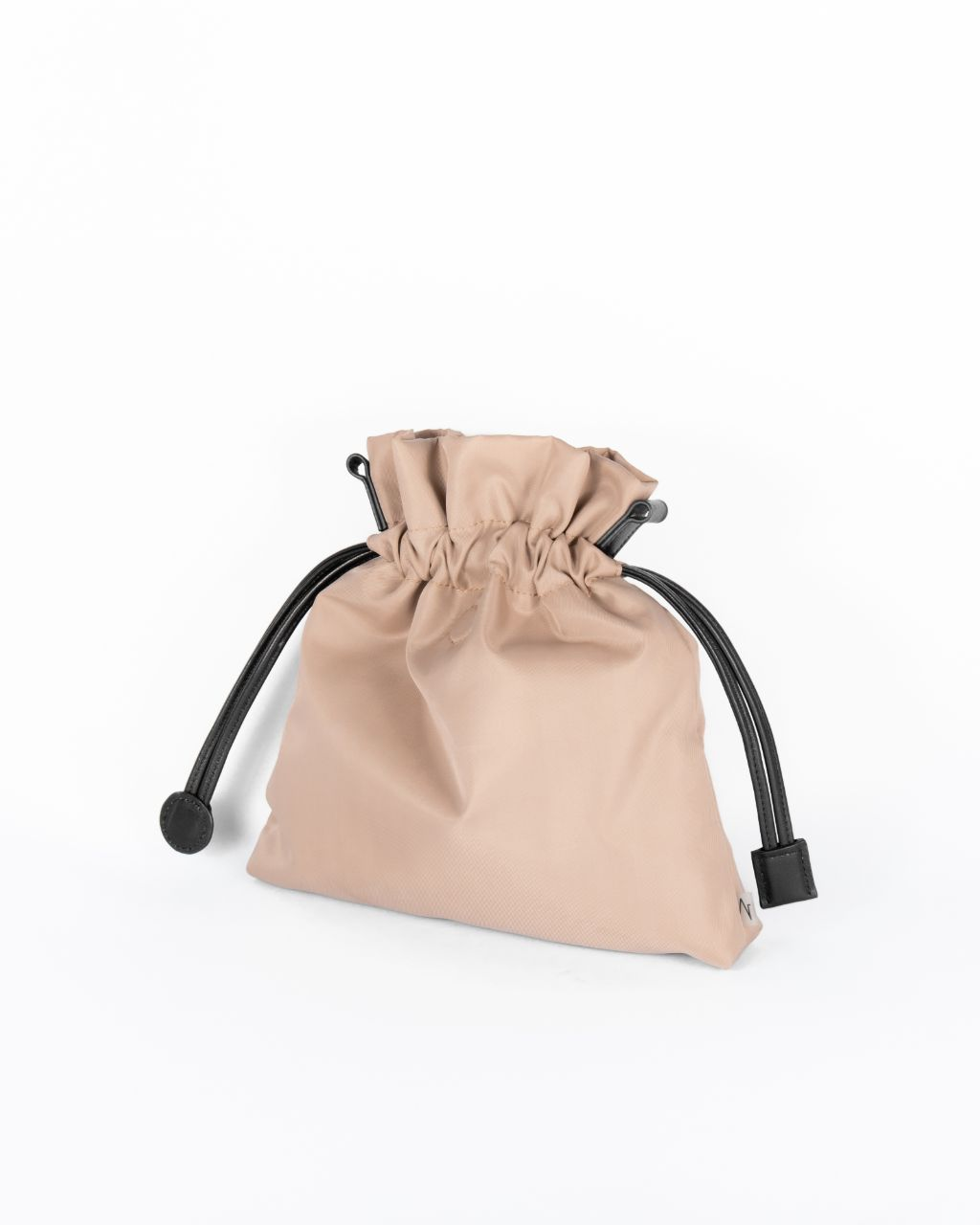 taupe nylon beans bag