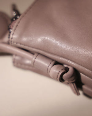 Double Zip Cross-Body Bag in HIPPO・TAT