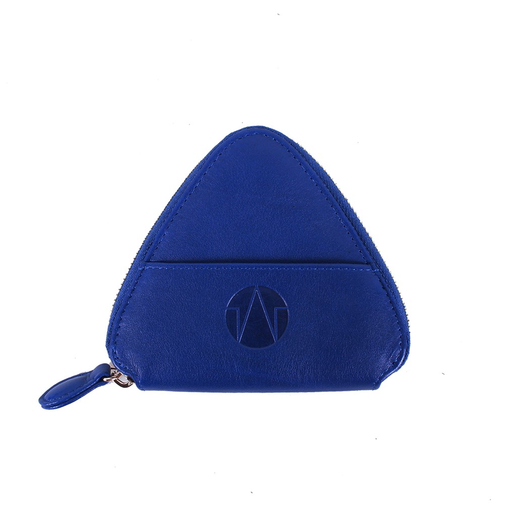 TAT_WHYSOSERIOUS_triangle purse_2286_royal blue back with one card slot