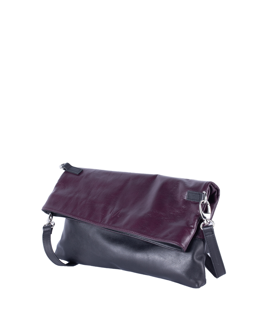 TAT_normcore_14583_twotone fold bag_purple
