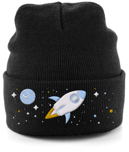 Load image into Gallery viewer, Blast Off - Cuffed Beanie