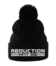 Load image into Gallery viewer, RD - Bobble Beanie - Abduction 51 Extraterrestrial Streetwear | UFO & Alien Inspired