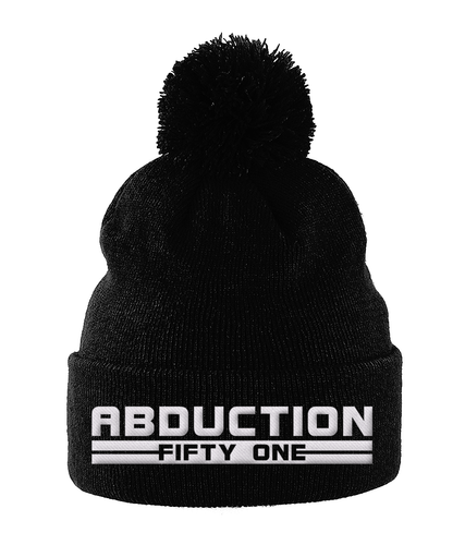 RD - Bobble Beanie - Abduction 51 Extraterrestrial Streetwear | UFO & Alien Inspired