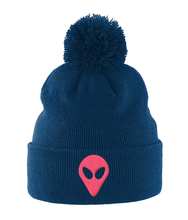 Load image into Gallery viewer, Timothy - Bobble Beanie - Abduction 51 Extraterrestrial Streetwear | UFO & Alien Inspired