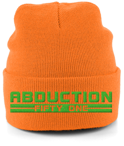 RD - Cuffed Beanie - Abduction 51 Extraterrestrial Streetwear | UFO & Alien Inspired