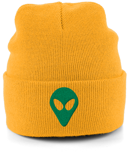 Timothy - Cuffed Beanie - Abduction 51 Extraterrestrial Streetwear | UFO & Alien Inspired