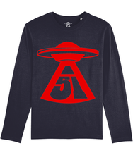 Load image into Gallery viewer, First Contact - Long Sleeve T-Shirt For Men - Abduction 51 Extraterrestrial Streetwear | UFO & Alien Inspired