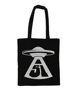 First Contact - Tote Bag - Abduction 51 Extraterrestrial Streetwear | UFO & Alien Inspired