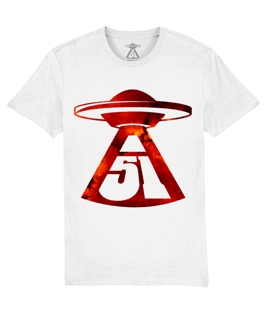 First Contact - T-Shirt For Men - Abduction 51 Extraterrestrial Streetwear | UFO & Alien Inspired
