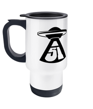 Load image into Gallery viewer, Travel Mug - Abduction 51 Extraterrestrial Streetwear | UFO & Alien Inspired