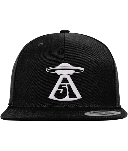 First Contact - Snapback Cap - Abduction 51 Extraterrestrial Streetwear | UFO & Alien Inspired