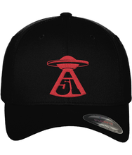 Load image into Gallery viewer, First Contact - Flexfit Cap - Abduction 51 Extraterrestrial Streetwear | UFO & Alien Inspired