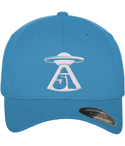 First Contact - Flexfit Cap - Abduction 51 Extraterrestrial Streetwear | UFO & Alien Inspired