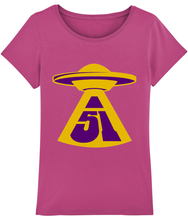 Load image into Gallery viewer, First Contact - T-Shirt For Women - Abduction 51 Extraterrestrial Streetwear | UFO & Alien Inspired
