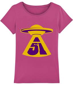 First Contact - T-Shirt For Women - Abduction 51 Extraterrestrial Streetwear | UFO & Alien Inspired