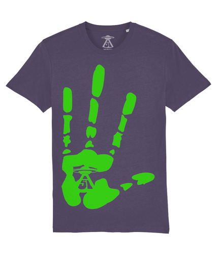 High Four - T-Shirt For Men - Abduction 51 Extraterrestrial Streetwear | UFO & Alien Inspired