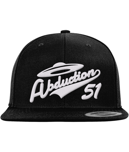 Home Run - Snapback Cap - Abduction 51 Extraterrestrial Streetwear | UFO & Alien Inspired