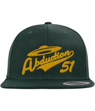 Load image into Gallery viewer, Home Run - Snapback Cap - Abduction 51 Extraterrestrial Streetwear | UFO & Alien Inspired