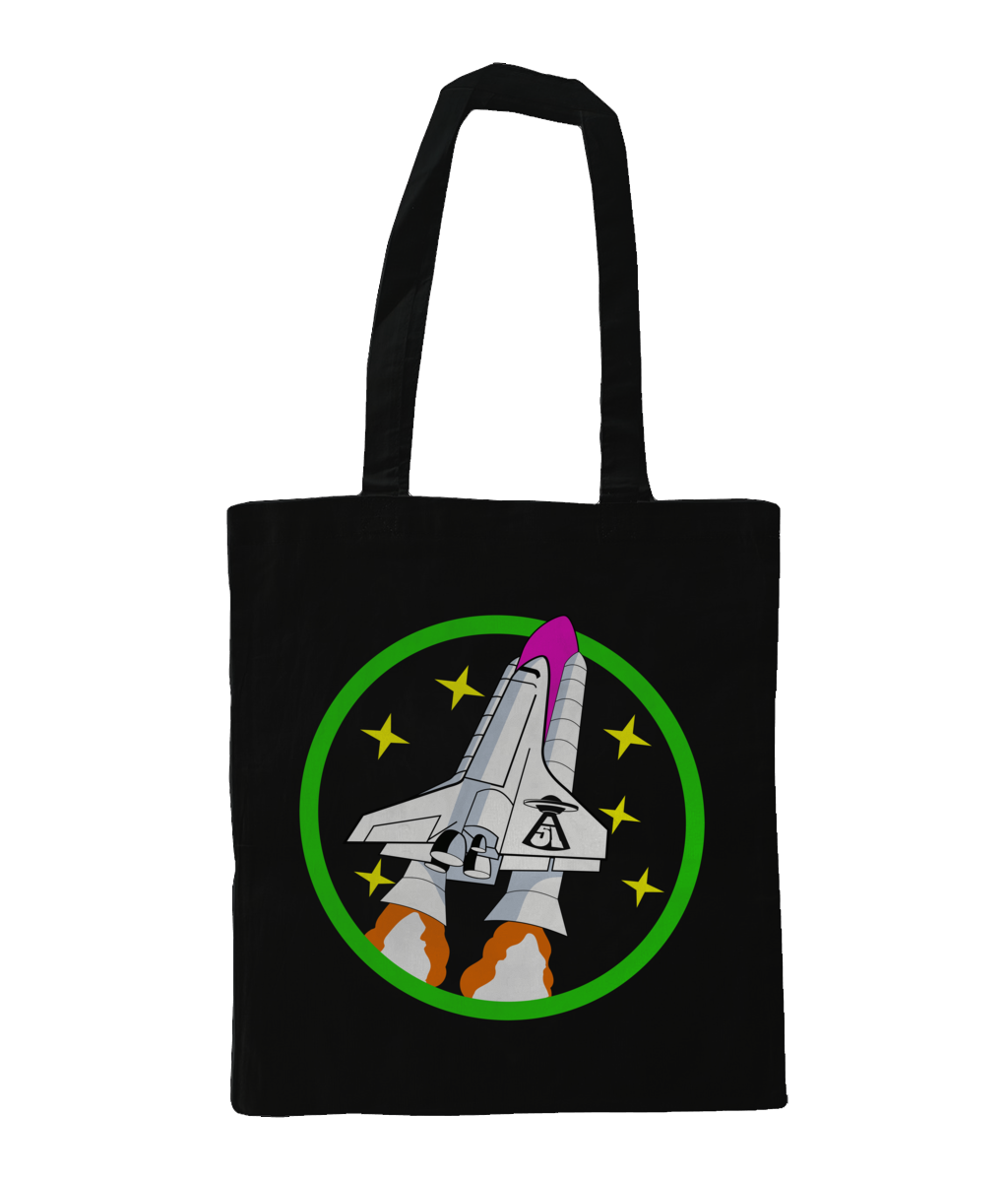 In To Orbit - Tote Bag - Abduction 51 Extraterrestrial Streetwear | UFO & Alien Inspired