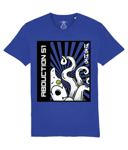Octopus - T-Shirt For Men - Abduction 51 Extraterrestrial Streetwear | UFO & Alien Inspired