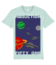 Load image into Gallery viewer, Planet Convoy - T-Shirt For Men - Abduction 51 Extraterrestrial Streetwear | UFO & Alien Inspired