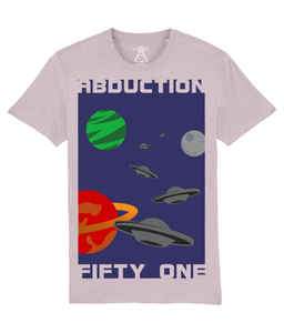 Planet Convoy - T-Shirt For Men - Abduction 51 Extraterrestrial Streetwear | UFO & Alien Inspired