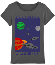 Load image into Gallery viewer, Planet Convoy - T-Shirt For Woman - Abduction 51 Extraterrestrial Streetwear | UFO & Alien Inspired