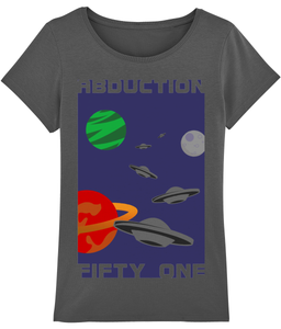 Planet Convoy - T-Shirt For Woman - Abduction 51 Extraterrestrial Streetwear | UFO & Alien Inspired