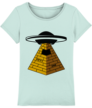 Load image into Gallery viewer, They Built Them - T-Shirt For Woman - Abduction 51 Extraterrestrial Streetwear | UFO & Alien Inspired
