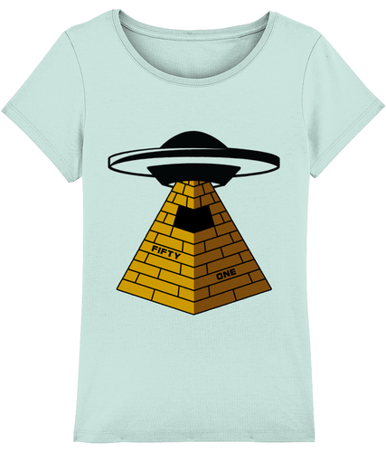 They Built Them - T-Shirt For Woman - Abduction 51 Extraterrestrial Streetwear | UFO & Alien Inspired
