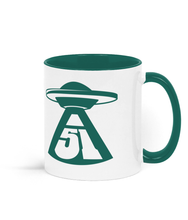Load image into Gallery viewer, Ceramic Mug - Abduction 51 Extraterrestrial Streetwear | UFO & Alien Inspired