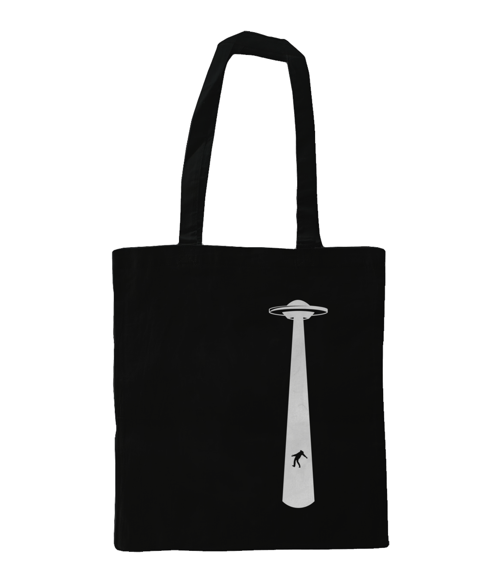 Take The Humans - Tote Bag - Abduction 51 Extraterrestrial Streetwear | UFO & Alien Inspired