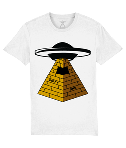 They Built Them - T-Shirt For Men - Abduction 51 Extraterrestrial Streetwear | UFO & Alien Inspired