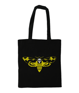 Tim's Head Moth - Tote Bag - Abduction 51 Extraterrestrial Streetwear | UFO & Alien Inspired