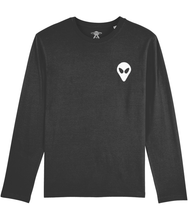 Load image into Gallery viewer, Timothy Little - Long Sleeve T-Shirt For Men - Abduction 51 Extraterrestrial Streetwear | UFO & Alien Inspired