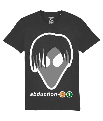 Tom Exists - T-Shirt For Men - Abduction 51 Extraterrestrial Streetwear | UFO & Alien Inspired