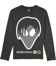 Load image into Gallery viewer, Tom Exists - Long Sleeve T-Shirt For Men - Abduction 51 Extraterrestrial Streetwear | UFO & Alien Inspired