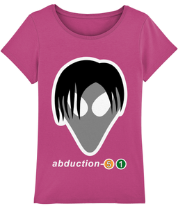 Tom Exists - T-Shirt For Women - Abduction 51 Extraterrestrial Streetwear | UFO & Alien Inspired