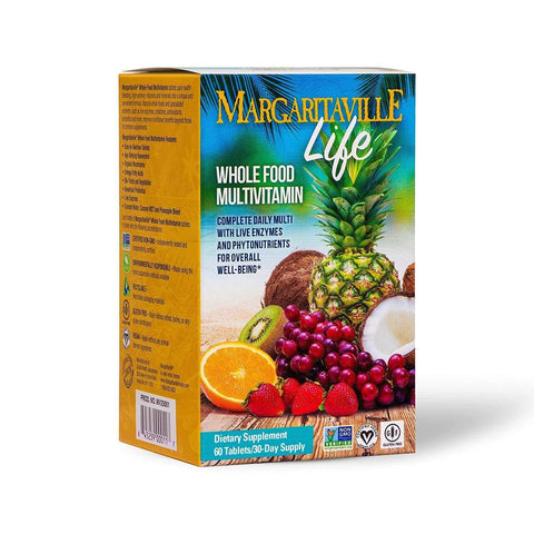 Margaritaville Life Premium Whole Food Multivitamin for Men & Women - Margaritaville Life